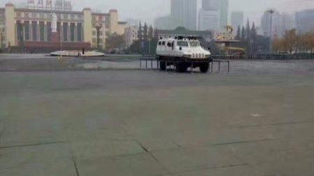 [禁闻] 中, 대기오염 항의시위 장갑차로 차단