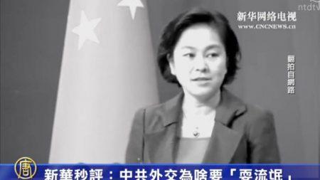 [禁闻] 신화 초평, '중공 외교에는 불량배 행위 필요'