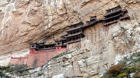 1400년 된 기적의 건축물 '현공사'