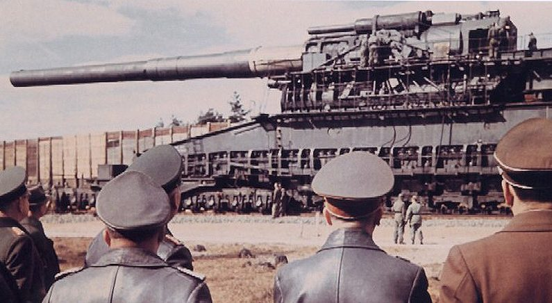 인류 역사상 실전에 사용된 가장 큰 대포