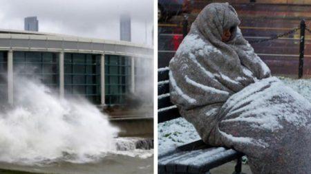 체감온도 영하 50도, 美최악의 혹한 속 노숙인들에게 호텔방 제공한 여성