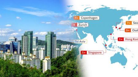 서울, 뉴욕·코펜하겐과 함께 세계 7번째로 '물가 비싼' 도시