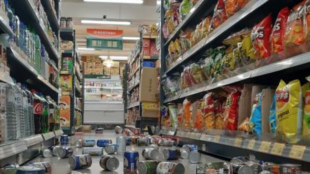 대만 화롄서 규모 6.1 지진…대만 전역 '흔들'·17명 부상