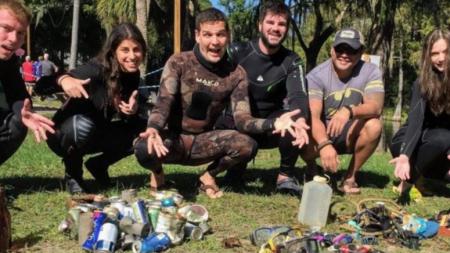 쓰레기 수거 인증샷 유행, 해외 젊은이들 사이에서 SNS 운동으로 확산