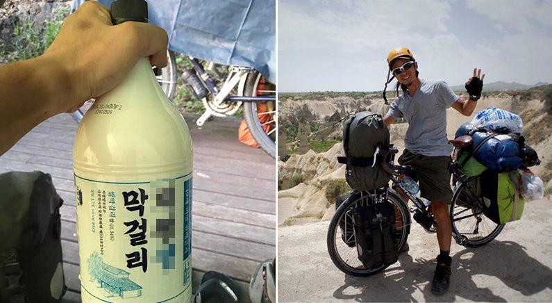 고교시절 꿈꿨던 '자전거 세계일주' 마치고 10년만에 귀국한 남자