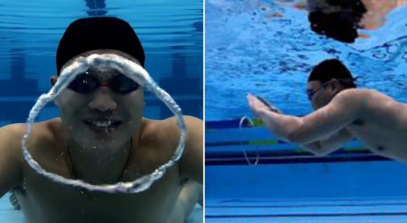 물놀이 가서 친구들 깜짝 놀라게 할 엄청난 기술 (영상)