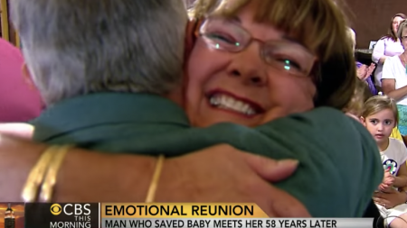 버려진 아기 구한 14세 소년이 '58년' 동안 꿈꿨던 한 가지 소원