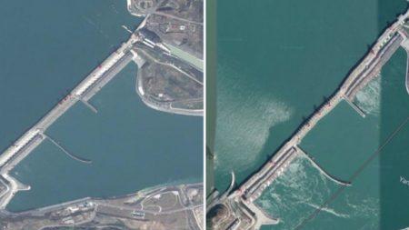 중국 발칵 뒤집어 놓은 구글 위성 사진 한장