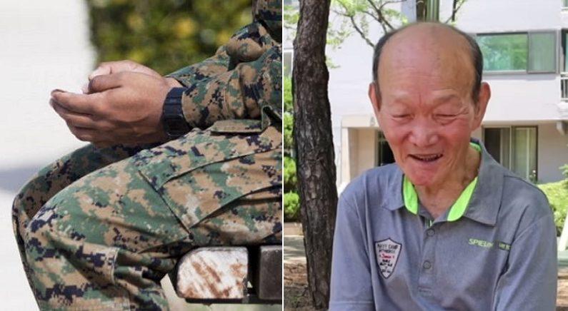 군대 간 아들 면회 갔던 '통아저씨'가 눈물 흘리며 그냥 돌아온 이유