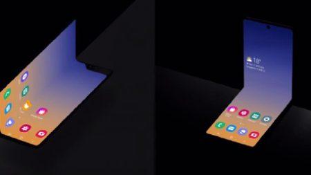 삼성전자, 조개 껍데기처럼 여닫히는 새로운 형태 폴더블스마트폰 공개