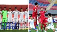 밀치고 소리지르고… 북한전 팀 싸움으로 번질 뻔한 일촉즉발 순간
