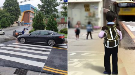 """스쿨존 횡단보도서 아들 잃은 부모 """"다신 이런 슬픔 없기를…"""""""