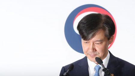 """조국, 전격 사의…""""검찰개혁 불쏘시개 역할 여기까지"""""""