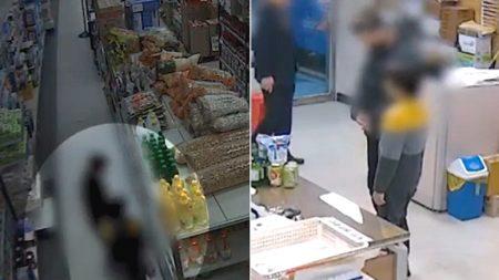 온종일 굶어 마트에서 우유 훔치다 걸린 아빠와 초등학생 아들