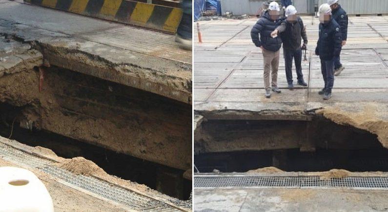 여의도 땅 무너지며 숨진 피해자는 '첫 출근'한 54세 노동자였다