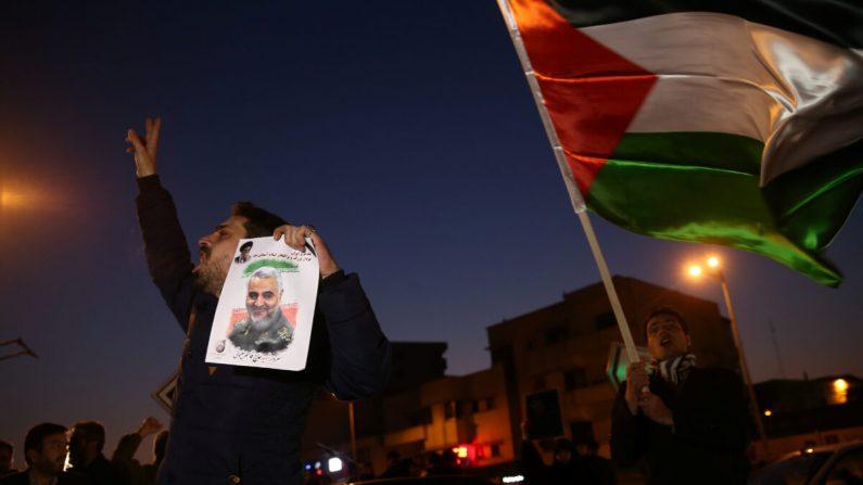 """이란 혁명수비대 총사령관 """"이라크 주둔 미군 기지 미사일 공격, 인명 살상 의도 없었다"""""""