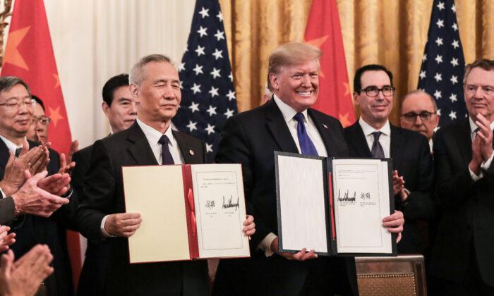 미중, 1단계 무역합의 서명…양국 긴장 완화