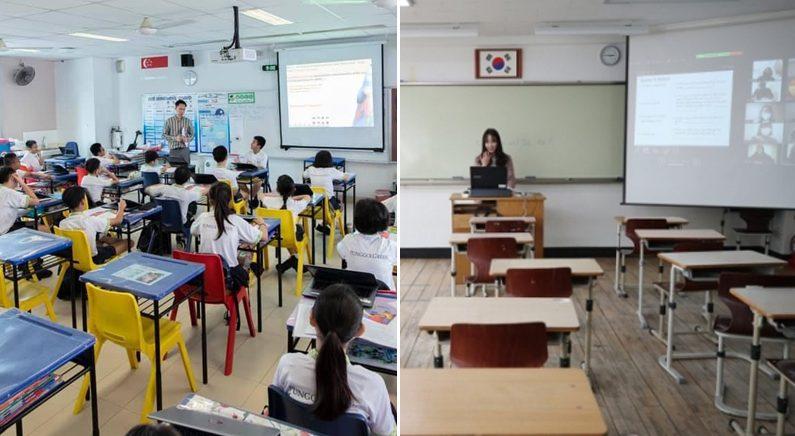 """정부 """"싱가포르 개학 뒤 확진자 14배 폭증..타산지석 삼겠다"""""""
