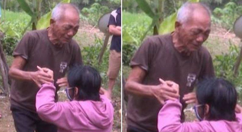 '인신매매'로 중국에 팔려 갔던 딸을 30년 만에 다시 만나고 오열한 아버지