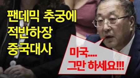 """팬데믹 추궁에 UN 中 대사 적반하장 """"미국.. 그만 하세요!"""""""
