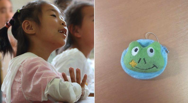 다운증후군 초등학생이 전학가는 짝꿍에게 작별선물로 건넨 낡은 '동전지갑'