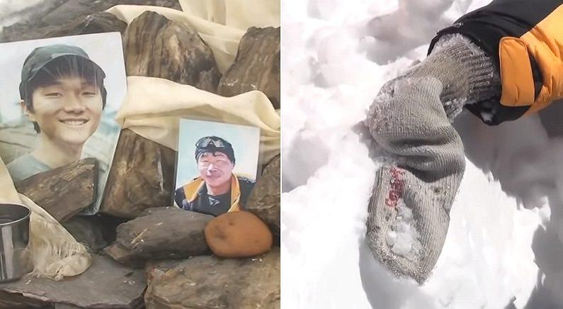히말라야에서 숨진 한국인 등반가의 손에 '양말'이 씌워져 있던 슬픈 이유