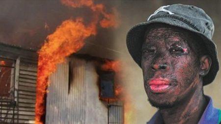 """""""후회하지 않습니다"""" 화재 현장 목격하고 뛰어들어 아기 구해낸 남성의 얼굴"""