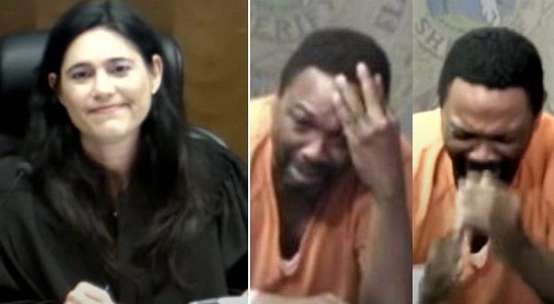 법정에서 만난 판사가 '중학교 동창'이라는 사실 알게 된 범죄자의 표정