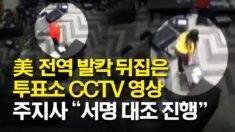"""미국 발칵 뒤집은 CCTV 영상.. 조지아 주지사 """"서명 대조 진행"""" 촉구"""