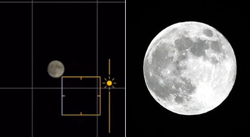 아이폰 기본 카메라로 선명한 보름달 사진 찍는 꿀팁 (영상)