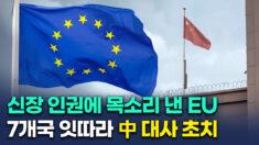 中-EU, 신장 인권탄압 제재 갈등…7개국 잇따라 中 대사 초치