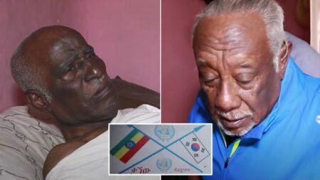 '6.25전쟁' 참전했다는 이유로 고향에서 쫓겨나 빈민촌에 모여 사는 에티오피아 참전용사들