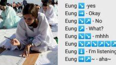 한국어 배우는 외국인들이 정리한 한국인의 난해한 '응(Eung)' 사용법