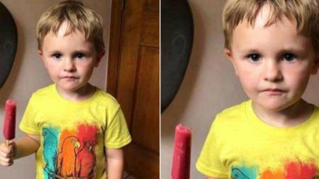 군것질 금지령 떨어진 삼촌에게 엄마 몰래 아이스크림 가져다준 조카의 비장한 '표정'
