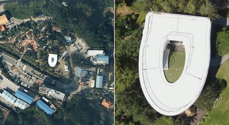 전 세계 사람들이 쓰는 구글 지도에서 촬영된 이상한 '한국 저택'