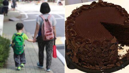 초콜릿 알레르기 때문에 못 먹는 거 알면서도 '초코케이크' 사달라고 조른 9살 아이
