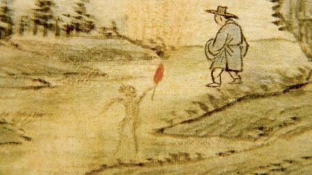 """""""한국의 귀신"""" 우리나라 최초의 도깨비 그림이 발견됐다"""