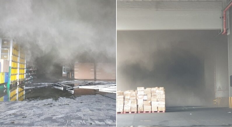 [속보] 이천 쿠팡물류센터 화재 현장서 소방관 1명 고립