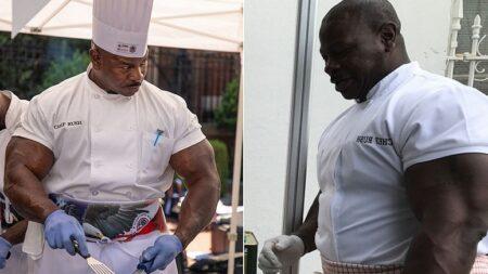 한 번도 손님들에게 음식 맛없다는 혹평 들은 적 없다(?)는 요리사