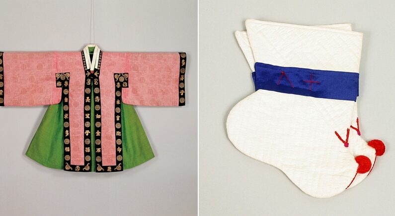 이번에 공개된 조선시대 왕실 어린이가 실제로 입었던 옷의 '비주얼+디테일'