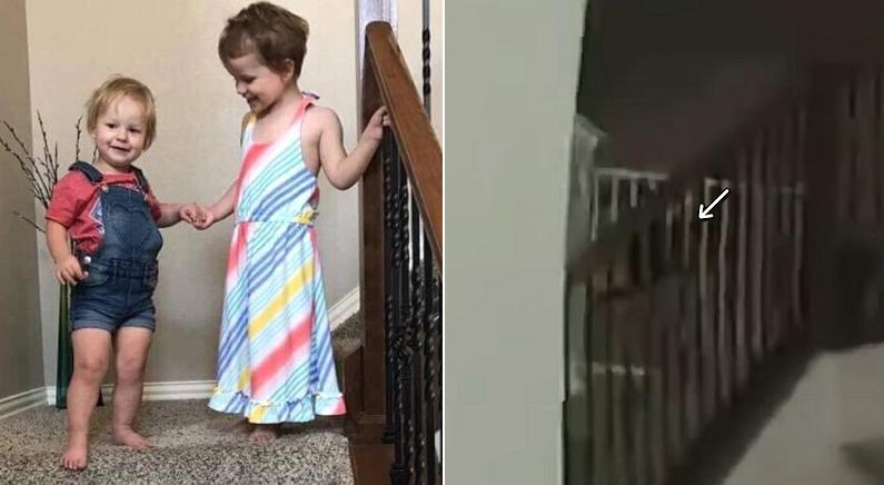 아빠 손에 살해당한 3살·4살 자매, 이들의 집을 수색하던 경찰들이 들은 소리 (바디캠 영상)