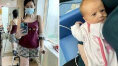 임신 4개월에 암 진단 받은 엄마, 항암 포기하고 한쪽 다리 절단했다