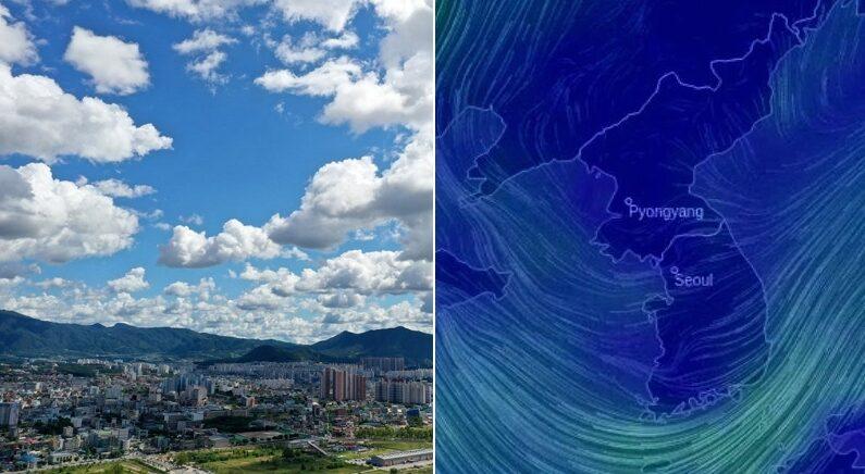 """""""중국이랑 호주가 싸워서…"""" 요즘 미세먼지 없이 하늘이 맑고 푸른 이유"""