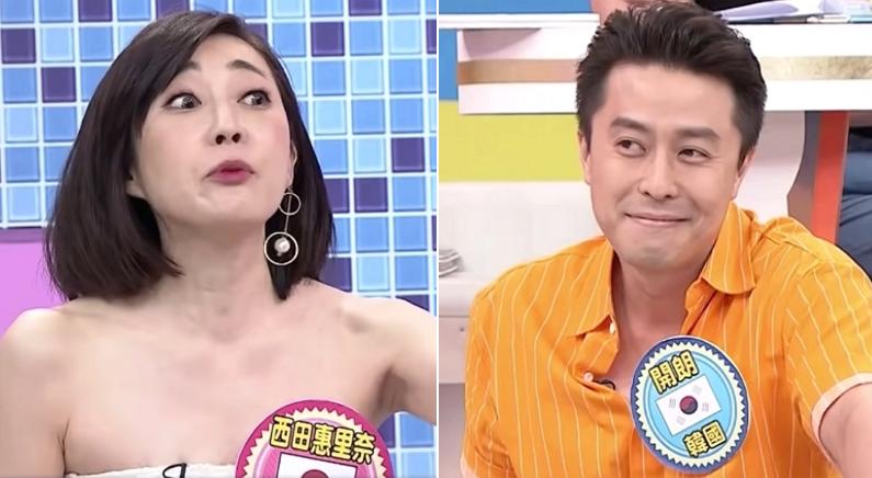 대만 방송에서 일본 담당하는 한국인 출연자의 여유로운 말빨 클래스